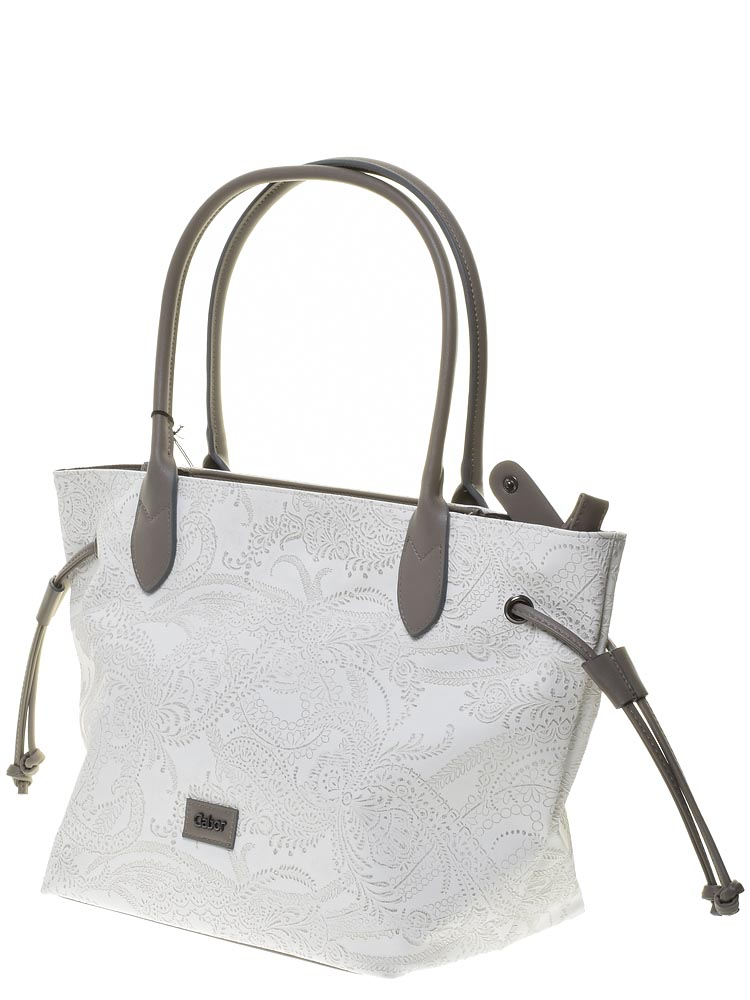 b8fee548349e Gabor (белый) сумка женская артикул 8109-13 (материал – иск. кожа ...