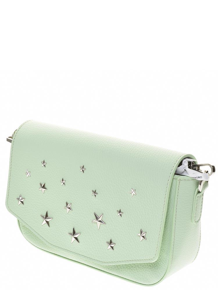 91364e463253 Deboro (зелёный) сумка женская артикул 3369 (материал – натуральная ...